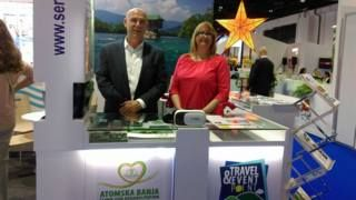 Clinic for rehabilitation Atomska banja in the tourist fair in Dubai 2017 !
