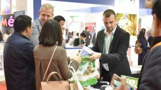 Atomska banja at the COTTM Tourism Exhibition in Beijing